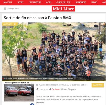Article Duverbike - juillet 2020