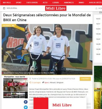 Article Laury et Kenza