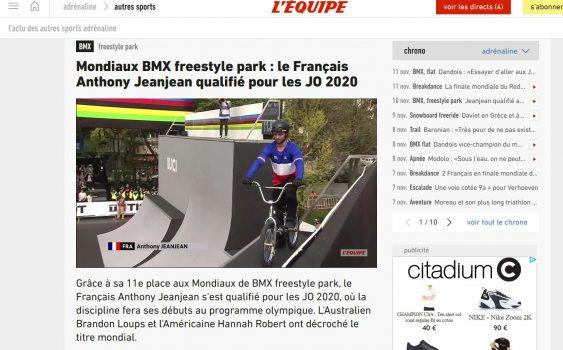 Article Lequipe